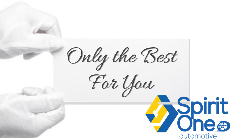Spirit One Automotive White Glove Treatment Only the Best for You